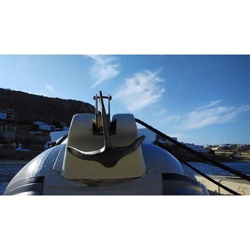 Βίρα τις άγκυρες! #ribcruises #sea #rentaboat #summer #anchor #boat