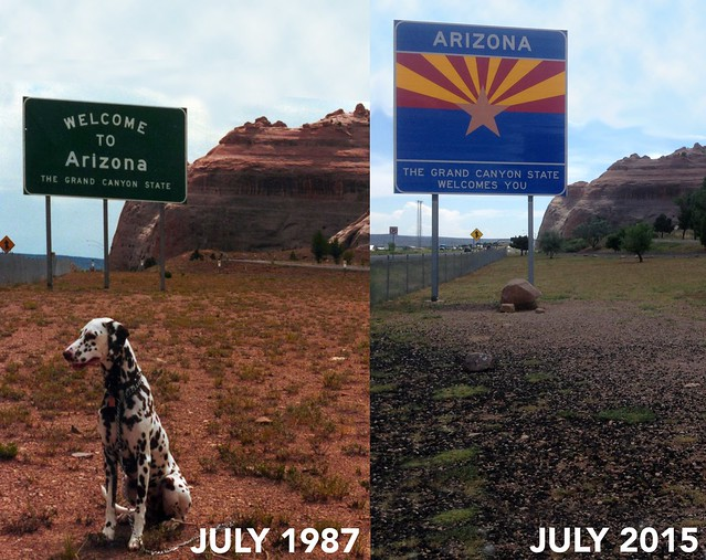 Eighteen Years Ago Entering Arizona
