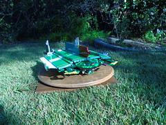 Terran Sojourner (08) (origamiguy1971) Tags: lego scifi spaceship fi hull stressed sci sojourner terran microscale esseltine origamiguy origamiguy1971