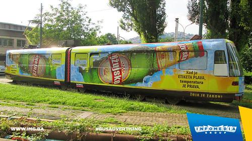 Info Media Group - Ožujsko pivo, BUS Outdoor Advertising, Sarajevo 06-2015 (2)