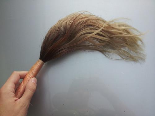 Balayette de cheveux, sympa! Nakuru, Kenya