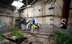 Desu (nid2graff) Tags: color graffiti writer v13 usine tgc aoa desu friche