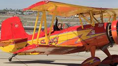 Gene Soucy (Norman Graf) Tags: show cat plane airplane circus aircraft air airshow yuma aerobatics grumman showcat genesoucy agcat n7699 g164 nx7699 2015yumaairshow yumaaircircus