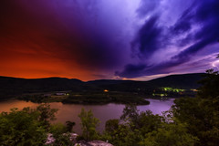 Lightning (mudpig) Tags: statepark park longexposure cloud color colour reflection night river outdoors photography scenic bearmountain license bolt hudsonriver thunderstorm lightning overlook cloudscape gettyimages colourscape royaltyfree scenicoverlook bearmt bearmountainstatepark colorscape mudpig stevekelley stevenkelley licensenow