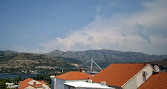 Dubrovnik 3 (Jori Samonen) Tags: bridge sea mountain water buildings landscape view croatia roofs dubrovnik babinkuk