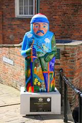 (9) An Expansive Place Baron (Richard Brothwell) Tags: lincoln lincolnshire lincolnbaronschartertrail 2015 magnacarta baron barons canoneos70d richardbrothwell canonefs18135mmf3556isstm efs18135mmf3556isstm models glamour anexpansiveplacebaron uk england britain charter trail lincolnbarons danesgate sculptures 9