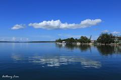 .. (alien2077) Tags: blue sea sky clouds cuba caribbean   cienfuegos