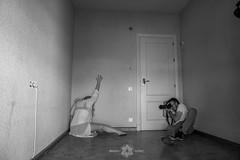 MAKING KAFKA_9 (Almu_Martinez_Jiménez) Tags: makingoff kafka proceso teatro exposición black white photo raro friends working team espejo blanco y negro maquillaje video fotografía