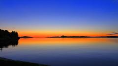 Herdlafjorden 12. juni -16 (bjarne.stokke) Tags: hordaland norway norge norwegen solnedgang speiling sunset askøy platinumheartaward