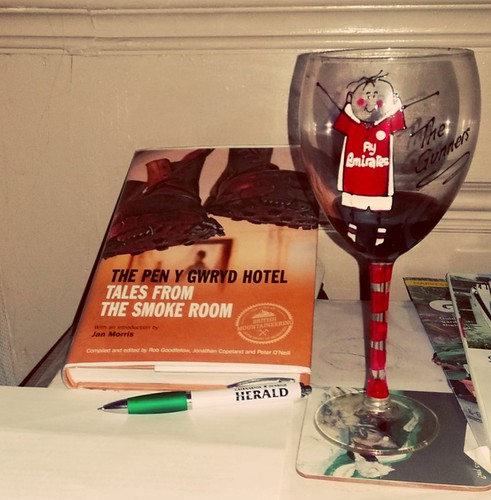 Xmas drink & reading.