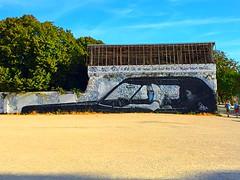 La Rochelle - 2016 (amaëlhegron) Tags: canon photographie photo artiste art dessin 94 suprême énorme mur gang see sea 6 iphone6 iphone aytre estuaire entrée port tour plage blackandwhite bb rue urbain tag graffiti graff jauneetnoir rugby met atlantique pont îlederé te de île il rochelle larochelle