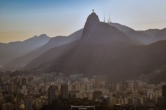The city at his feet (Mariano Colombotto) Tags: rio brasil brazil riodejaneiro corcovado cristoredentor christthereedemer vista view city ciudad edificios buildings travel tourism turismo viaje nikon ngc infinitexposure autofocus nikonflickrawardgold