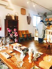 Kagurazaka (Kimono dressing lesson) (mayakonakamura) Tags: sumiredou kimonodressing teacher mayako nakamura mayakonakamura naokotatsukawa kagurazaka tokyo obi kimono ribbon walk shopping lunch handpainted silk kimonodressinglesson semiabstract