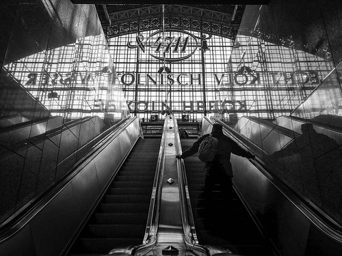 """central station reflection • <a style=""""font-size:0.8em;"""" href=""""http://www.flickr.com/photos/126466125@N02/31821763953/"""" target=""""_blank"""">View on Flickr</a>"""