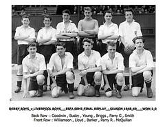 Derby Boys Season 1948-49 (qay73xse) Tags: bygones football derby englishschoolstrophy 1948 1949