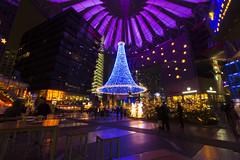 Sony Center (Noémie.dl) Tags: berlin new year nouvel an 2016 2017 architecture colours colors nb black white reichstag allemagne germany hockey wall mur winter christmas noel