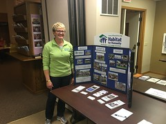 Laura G. Habitat for Humanity and Restore in Beaver Dam display