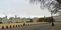 Horse Guards Parade, London, Feb 2016 (allanmaciver) Tags: horse guards parade london city centre sand eye circle lamp victorian trees grey skies allanmaciver