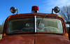 Emergency (davidwilliamreed) Tags: old rusty crusty metal emergency truck vehicle abandoned neglected forgotten redlight spotlights rust decay patina weathered oxidized oxidation simpsonfarm hallcountyga