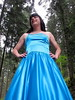 Soft and rough (Paula Satijn) Tags: satin silk shiny gown dress skirt girl lady forest blue elegant beauty ballgown classy outdoor nature girly feminine tgirl transvestite woods trees smile necklace makeup tranny