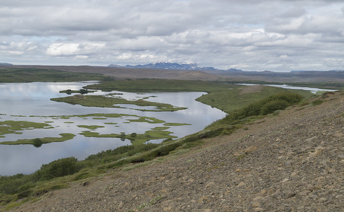 View over Lake Sandvatn, 13.07.2016.