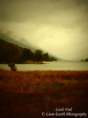 Loch Voil (liamearth) Tags: earth scotland loch lake shore sky clouds mountain trees fog sceneic wind ripple silhouette wilderness beautiful sea view outdoor water grass voil glen western perthshire landscape wild