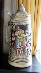 Bavarian Beer Stein (RobW_) Tags: beer stein koukaki athens greece friday 20jan2017 january 2017 diaryphoto mdpd2017 mdpd201701