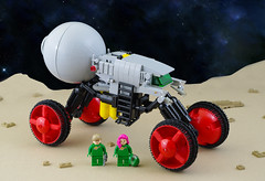 Scarabaeus NCS Rover (01) (F@bz) Tags: sf space rover neoclassicspace lego moc febrovery