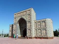 Observatory of Mirzo Ulugh Bek, Samarkand, June 2015 (leonyaakov) Tags: summer museum ceramic minaret muslim religion ceremony mosque unesco promenade uzbekistan samarkand citycenter sunnyday citytour ouzbekistan greatphotographers   nikonflickraward