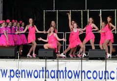 Penwortham Gala 2015 - 27 (Tony Worrall) Tags: show county uk pink england music fun town women stream tour open dancers place northwest unitedkingdom stage country north visit location lancashire event musical area annual northern update celebrate gala attraction lancs penwortham southribble welovethenorth 2015tonyworrall pinkladdies penworthamgala2015