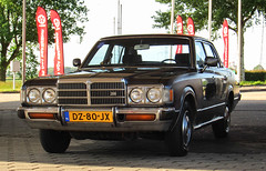 1979 Toyota Crown 2600 Super Saloon Automatic (rvandermaar) Tags: super automatic toyota crown saloon 1979 s80 2600 toyotacrown toyotacrownsupersaloon toyotacrown2600 dz80jx sidecode4 toyotacrown2600supersaloon