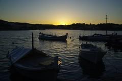 Ile de Korula (Dalmatie/Croatie) (PierreG_09) Tags: mer croatia ile hr bateau coucherdesoleil barque croatie hrvatska adriatique korula dalmatie