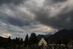 push the sky away (rosa_rusa) Tags: alps germany deutschland alemania cementery mittenwald beforestorm rosarusa pushtheskyaway