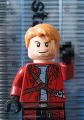 Oh I'm sorry, I didn't know how this machine worked (tomtommilton) Tags: chris macro comics star lego finger lord peter galaxy mugshot minifig minifigs marvel supermacro quill pratt guardians minifigure minifigures starlord