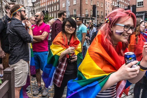 DUBLIN 2015 LGBTQ PRIDE PARADE [THE BIGGEST TO DATE] REF-105939