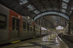 . (Le Cercle Rouge) Tags: portugal station train lisbon requiem rossio hesaid ilovetrains antoniotabucchi