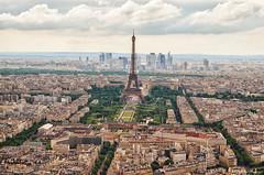 The Capital (Sami Hashem) Tags: city paris france landscape cityscape eiffeltower montparnasse defense