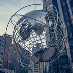Unisphere in Columbus Circle, NYC