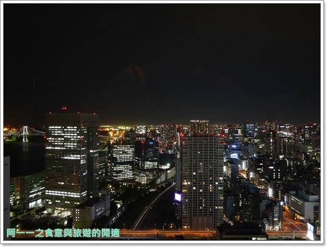 東京景點夜景世界貿易大樓40樓瞭望台seasidetop東京鐵塔image019