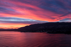 In Living Colour ~ Vancouver, BC (Michael Thornquist) Tags: pink sunset canada vancouver clouds purple britishcolumbia bowenisland englishbay stanleypark vancouverbc cloudporn blackmountain sunshinecoast prospectpoint westvancouver vancity gvrd hollyburnmountain metrovancouver westvan cypressprovincialpark amblesidepark vancouvercanada strachanmountain