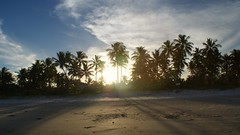 Sunset (Vitor Barreto) Tags: challengeyouwinner beach sand nature sunset