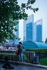 The street singer. #Leica #Street (unTed) Tags: china street leica city people color 50mm f14 beijing streetphotography documentary singer summilux asph leicam leicam240