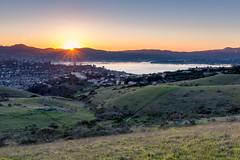 Sunset over Richardson Bay (Matt McLean) Tags: bayarea california landscape marin sunrays sunburst sunset tiburon belvederetiburon unitedstates us
