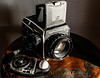 work horses of a past photographic legacy (goodrich781) Tags: nikkor film lightmeter camera old medium format bronica sekonic