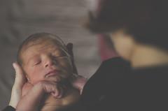 353/366 (moke076) Tags: 2016 365 366 project366 project 365project project365 oneaday photoaday portrait newborn baby mom mother holding face sleep kid natural light lookingdown sleeping nikon d7000