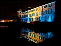 The Eutin Castle at night (Ostseetroll) Tags: deu deutschland eutin geo:lat=5413714664 geo:lon=1062075173 geotagged schleswigholstein schlosspark nachtaufnahme nightshot olympusem5markii spiegelungen reflections