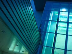 L_000970 (AlecTse) Tags: city color sky night light mamiya 645 leaf aptus 55110mm balance mood movie scene angle walk alone