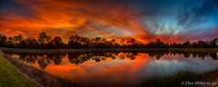Scorched Sky (DonMiller_ToGo) Tags: cloudsonfire cloudporn landscape sunsetmadness sunsets nature water goldenhour skycandy panoimages5 florida hdr skyscapes panorama panoramic 3xp millerville reflection lake hdrphotography sky sunsetsniper skypainter d810 clouds outdoors