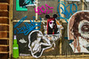ladies in the window (PDKImages) Tags: street art sheffieldstreetart streetart sheffield city urbanart urban heart cat pray prayer ladies soapstar wall wallart wallporn superhero contrasts urbanwarrior hand broken abandoned posterart