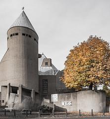 St. Mariä Heimsuchung (lars_uhlig) Tags: 2016 alfter architektur böhm church deutschland germany kirche architecture beton concrete brutalism brutalismus herbst atumn fall